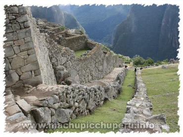 Photos of Machu Picchu: Dry Moat