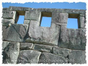 Photos of Machu Picchu: Temple of Three Windows / 3 Windows